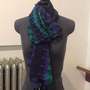 Chicos scarf 100% polyester
